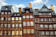 Rennaise architecture (Rennes, France). Where I studied for a semester.