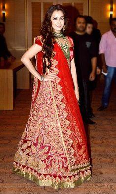 Dia Mirza at Lakme Fashion Week Grand finale. #Bollywood #Fashion #Style #LFW