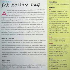 Graficos de Anita del Bosque: Fat Bottom Bag