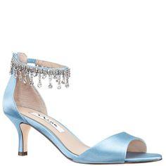 5ecd29d7c1e CHIANNE-LT BLUE SATIN Blue Sandals