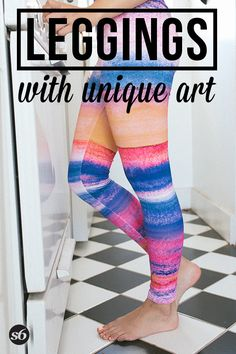 Leggings and millions of other products available atSociety6.com today. Every purchase supports independent art and the artist that created it.