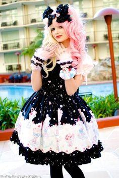 Lolita dresses.
