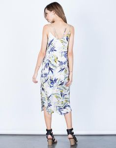 Planning a trip somewhere? Packing our Strappy Floral Vacay Dress is a must! Made from a soft and lightweight gauze fabric. This dress is fully lined. Features