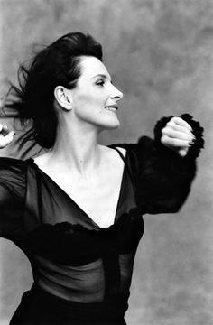 """filmloversareverysickpeople: """" Juliette Binoche by Bettina Rheims """""""