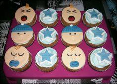 Baby shower cupcakes - Boy
