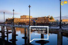 #FelizMartes #ACoruña Hoy queremos invitarte a descubrir la historia y los secretos del Castillo de San Antón bit.ly/2if4kZf #visitacoruña San Francisco Ferry, Building, Travel, Castles, Tourism, Cities, Historia, Viajes, Buildings
