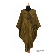 HANDWOVEN WOOL PONCHO|handmade shawl|unisex accessory|fall fashion|fall winter|trends|gift idea|unique design|designer fabric|fashion fabric by HandwovenByT on Etsy