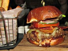 The Ballymaloe Burger from the Late Late in the Lower East Side