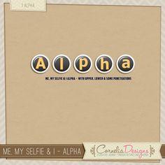 Me, My Selfie & I - Alpha   Cornelia Designs