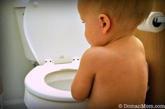 5 Things You Can Do with Your BABY to Make it Easier to Potty Train Them Later... this was helpful and full of common sense