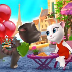 38 Ideas De My Talking Tom Gatos Gato Tom Feliz Cumpleaños Chistes Del Gato Tom