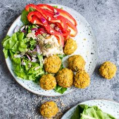 Baked Sweet Potato Falafel {Video}