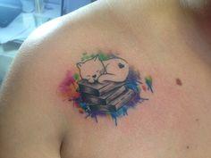 Trabalho em aquarela, #cat #book #watercolortattoo  #gato #tatuagemdegato  #aquarelatattoo