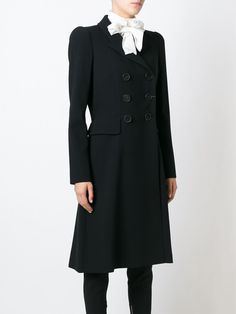 Alexander McQueen Zweireihiger Mantel