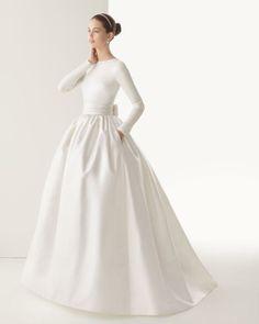 vestidos de novia espanoles | Vestidos de novias de manga larga para 2014 de diseñadores españoles