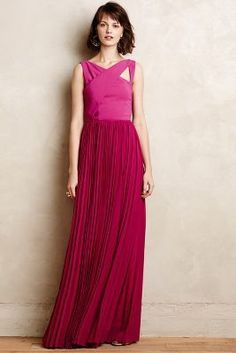 Sachin + Babi Zuma Gown #anthroregistry...MOH dress?