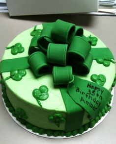 St. Patrick's day cakes - Google Search