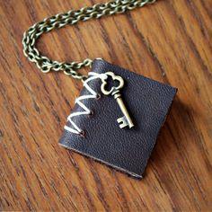 http://fab.com/sale/7814/enb1bt/?fref=sale-invite-tw | Secrets Book Necklace