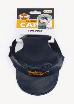 Dog Hats - Harleydavidson Vinyl Pet Cap MED * Details can be found by clicking on the image. (This is an Amazon affiliate link)