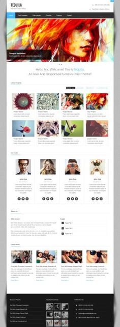 Zigzagpress Tequila : Portfolio WordPress Theme for Genesis http://www.wpproreview.com/zigzagpress-tequila-review/ #WordPress