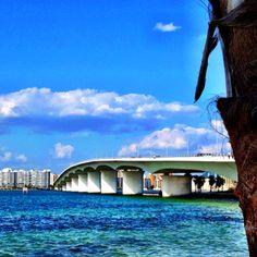 Ringling Bridge, Sarasota, FL - have crossed this bridge often, it's a beautiful view