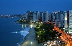 #Fortaleza é a capital brasileira mais próxima da Europa, estando a 5.608 km de Lisboa, em Portugal.
