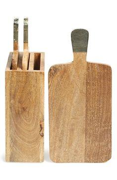 Thirstystone 'Urban Farm' Mango Wood Serving Boards &