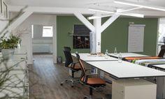 Komfortable Arbeitsplätze in neuem Coworking Space #Büro, #Bürogemeinschaft, #Office, #Coworking, #Stuttgart