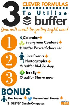 Buffer remains the number one choice for most people who schedule their social media posts. Wonder why? Check out these clever formulas.