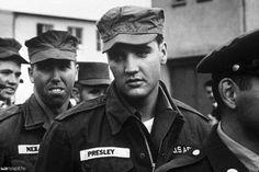PVT Presley, 1958.