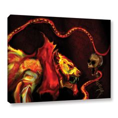 Shadow of The Beast, by Michael L Stewart Gallery-Wrapped Canvas