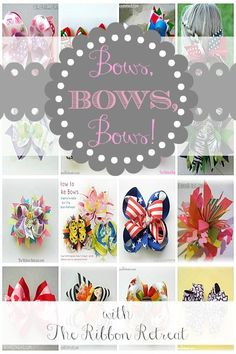 Bows, Bows, Bows! - The Ribbon Retreat Blog