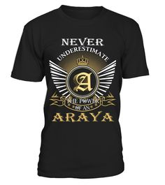 ARAYA  Funny Name Starting with A T-shirt, Best Name Starting with A T-shirt, custom name shirt, my name t shirt, customized name shirt, pup named scooby doo shirt, name t shirt