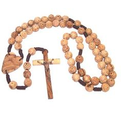 Olive Wood Wall Rosary 100 cm or 39 *** You can get additional details at the image link.