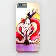 "Jester B the ""Cherry"" iPhone Case by crismanart Cherry, Iphone Cases, Cartoon, Iphone Case, Cartoons, I Phone Cases, Comic, Cherries"