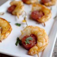 Brochettes de gambas & Chorizo à la Plancha pour l'apéro!