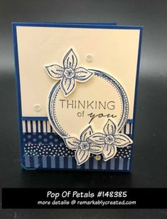 Pop of Petals showcases the new Stampin' UP! In Colors - RemARKable Creations