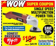 Harbor Freight Oscillating Tool Review