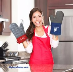 If they can't stand the heat in the kitchen then get your logo on some of these Oven Mitts & help them out! -Protects upt to 428 degrees F.  More info: http://ift.tt/2ke7WgY  #grill #kitchen #cook #cooking #chef #heat #hot #oven #stove #instagood #photooftheday  #food #foodie  #brand #marketing #swag #logo #promo