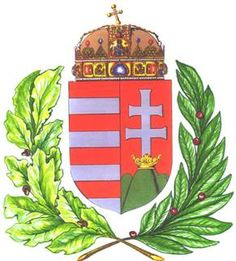 hungarian crest | HUNGARIAN COAT OF ARMS Hungarian Tattoo, Apps For Teachers, World Thinking Day, Crests, My Heritage, Pictogram, Coat Of Arms, Badges, Flags