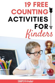 Are you looking for free printable numbers and counting activities for kindergarten? We've got 19 different hands on activities that will get your students counting. Includes count and clip cards, counting games, and worksheets. We've also got resources to help you count to 100 and practice skip counting. Click through to see all our free resources. Fun Math Games, Counting Activities, Hands On Activities, Numbers Kindergarten, Kindergarten Activities, How To Read Numbers, Early Learning, Kids Learning, Number Recognition Activities