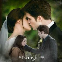 this is Bella and Edward on there wedding day before they got married and before there honeymoon too.