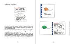 Utiliser les cartes de nomenclature Montessori
