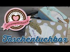 ▶ Tutorial: Taschentuecherbox mit Produkten von Stampin' Up! - YouTube