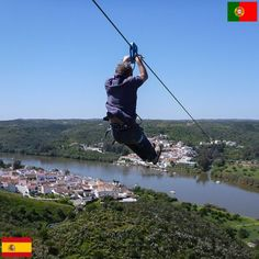 We want to do this!  - Zip line connecting Spain and Portugal!   international-borders