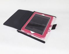 jw field service organizer with tablet holder pearl background fuchsia bird and flowers design - Field Service Organizer