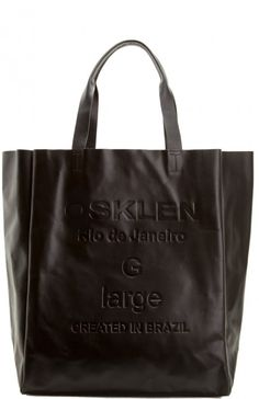 Osklen - BOLSA COURO TOTE LARGE - bolsas - women