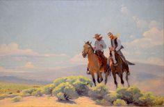 """The Open Range"" by William Herbert Dunton"