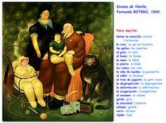 Me encanta escribir en español: la familia