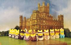 because what could be better than peeps and downtown abbey - presenting the winner of the sixth annual Peeps Diorama Contest